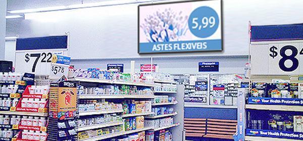 mídia indoor em farmácias