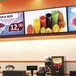 menu board sorveteria