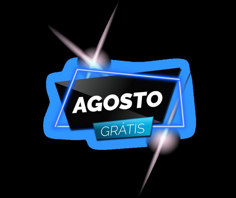 Agosto Grátis - logo
