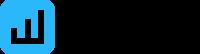 Logo escalar midia indoor preta horizontal